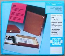 SAFE/I.D. - Jeu T.A.A.F. 1993 - Pré-Imprimés