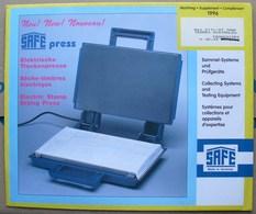SAFE/I.D. - Jeu T.A.A.F. 1997 - Pré-Imprimés