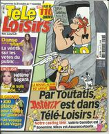 REVUE TELE LOISIRS PAR TOUTATIS ASTERIX EST DANS TELE LOISIRS 2014 UDERZO - Magazines Et Périodiques