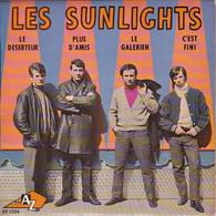 Les SUNLIGHTS - EP - 45T - Disque Vinyle - Le Déserteur - 1034 - Discos De Vinilo
