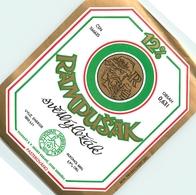 Ancienne étiquette BIERE E13 REPUBLIQUE TCHEQUE - Birra