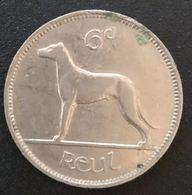 IRLANDE - EIRE - 6 Pingin / 1 Reul 1940 - KM 13 - Chien - Dog - IRELAND - Irlande