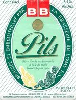 Ancienne étiquette BIERE E14 TOGO PILS - Birra