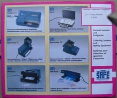 SAFE/I.D. - Jeu T.A.A.F. 2000 - Pré-Imprimés