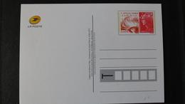 Carte Postale Neuve - PAP - ENTIER POSTAL - FÊTE DU TIMBRE 2012 - LE FEU - Entiers Postaux