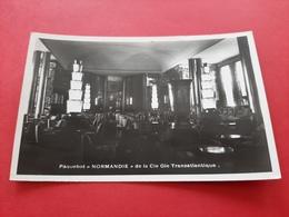 """PAQUEBOT """" NORMANDIE """" DE LA Cie Gle TRANSATLANTIQUE / LE GRAND SALON - Paquebots"""