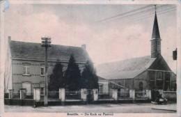 Belgique - Sint-Laureins - Bentille - De Kerk En Pastotij - Sint-Laureins