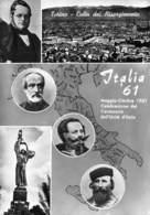 """7053 """"TORINO CULLA DEL RISORGIMENTO-ITALIA'61-MAGGIO/OTTOBRE 1961-CENT. UNITA' D'ITALIA"""" -CART. POST. ORIG. NON SPEDITA - Exhibitions"""