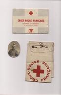 CROIX ROUGE FRANCAISE - BRASSARD - CARTE ET PHOTO -EQUIPES D'URGENCE - - Medicina