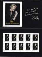 FRANCE - Feuillet Collector Johnny Hallyday - France