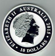 10 Dollars 2015 10 OUNCE SILVER UNC. - Australie