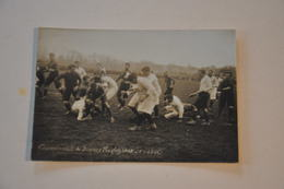 CHAMPIONNAT DE FRANCE RUGBY 1908 (SF-SBUC) STADE BORDELAIS UNIVERSITAIRE CLUB 4 - Rugby