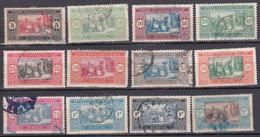 Sénégal Série 1922-1926 Marché Indigène N°72/78-82-84A/86 Oblitéré Et Neuf*charnière - Used Stamps