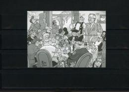[G1154] België BL100 - Strips - Marc Sleen - Nero - Adhemar - BD - Oplage: 75ex - Zeldzaam - Rare - Cote: € 90,00 - SUP - Feuillets Ministériels