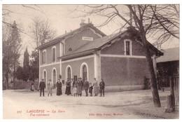 LAGUEPIE - La Gare - Autres Communes