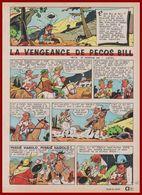 """Riesling Et Bojolet Présentent """" La Vengeance De Pecos Bill """". Bande Dessinée Crée Par Luc Mazel En 1965. - Vieux Papiers"""