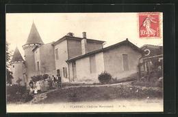 CPA Plassac, Château Monconseil, Avec Arbeitern - France