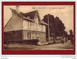 Haneffe - La Maison Communale - Vue Animée - P.I.B. N° 7 - 2 Scans - Donceel