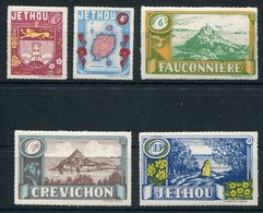 1960 Guernsey Jethou Scenes Definitives Set. Unmounted Mint - Local Issues