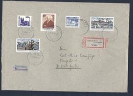 DDR, 1990, Briefumschlag A5, Einschreiben, Mischfrankatur, Gelaufen, - [6] Democratic Republic