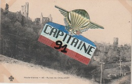 CPA RUINES DE CHALUCET HAUTE VIENNE - Other Municipalities