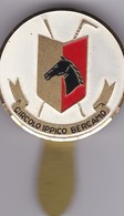 BERGAMO - DISTINTIVO COCCARDA CIRCOLO IPPICO BERGAMO - Altri