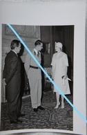 Photo Princess GRACE KELLY Prince Rainer MONACO EXPO 1958 KING BOUDEWIJN BAUDOUIN Ier Royauté Belge - Identified Persons