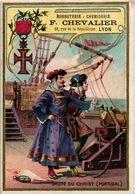 4 Litho Trade Cards Military Order DECORATION C1880 Ordre Saint Jean, St. Georgeordre De Christ + ETRANGERE - France