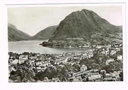 V5130 Lugano - Monte San Salvatore E Il Lago - Panorama / Viaggiata 1960 - TI Tessin
