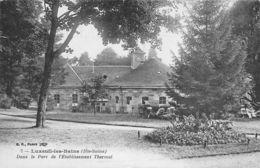 Luxeuil Les Bains (70) - Dans Le Parc De L'Etablissement Thermal - Luxeuil Les Bains
