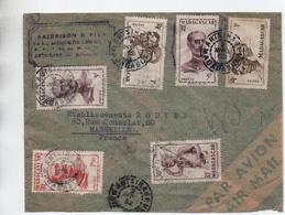 1952 - ENVELOPPE PAR AVION De ANTSIRABE (MADAGASCAR) - Lettres & Documents