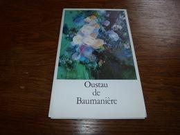 Menu Oustau De Baumanière Les Baux De Provence 1979 - Menus
