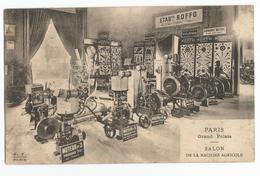 Salon De La Machine Agricole Paris Grand Palais Carte Postale Ancienne Etablissements Roffo - Autres