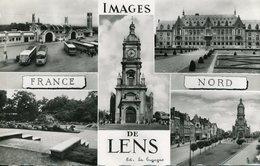 62.n° 22554 . Lens . Autobus . Vue D Ensemble . - Lens