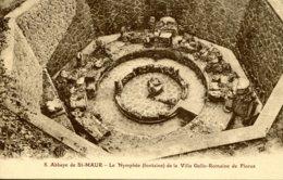 CPA -  SAINT-MAUR - ABBAYE - LE NYMPHEE - VILLA GALLO-ROMAINE FLORUS (ETAT PARFAIT) - Autres Communes