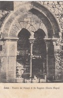 Cefalù-PALERMO-FINESTRA DEL PALAZZO DI RE RUGGERO-CARTOLINA NON VIAGGIATA ANNO 1910-1920 - Palermo
