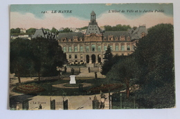 Le Havre - L'hotel De Ville Et Les Jardins Public - Le Havre