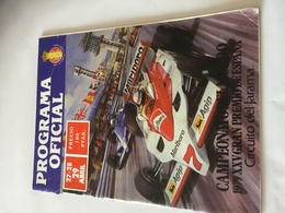 Programme Officiel Grand Prix D' ESPAGNE F1 1979 - Automobilismo - F1