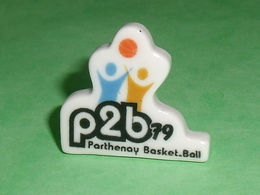 Fèves / Sports : P2B 79 , Parthenay Basket Ball , Perso   T135 - Sports