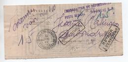 """1944 - LETTE De TANANARIVE Avec CACHET """"MADAGASCAR ET DEPENDANCES POSTE AERIENNE / TAXE PERCUE"""" -> RETOUR A L'ENVOYEUR - Lettres & Documents"""