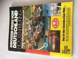 Programme Officiel Grand Prix D'Allemagne F1 1980 - Automobile - F1