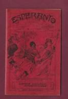 300320 - Manuel 1905 ESPERANTO Avec Vocabulaire Esperanto Français - Langue Ancienne - Esperanto