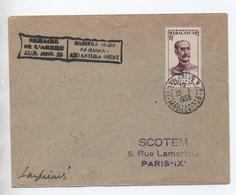 """1955 - ENVELOPPE De TANANARIVE (MADAGASCAR) Avec CACHET """"SEMAINE DE L'ARBRE 1955"""" - Lettres & Documents"""