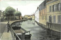 Cpa DOUAI 59 - Le Vieux Canal N° 495 - Douai