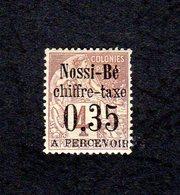 Nossi-Bé - Chiffre-taxe 0,35 Neuf Avec Charnière - Neufs