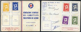 2 CARTES DE LA F.N.C.P.G AVEC VIGNETTES - Cartes