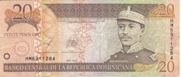 BILLETE DE REP. DOMINICANA DE 20 PESOS ORO DEL AÑO 2003 (BANKNOTE) - Dominikanische Rep.