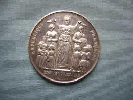 MEDAILLE ARGENT - ENSEIGNEMENT PRIMAIRE - ATTRIBUEE 1888 - France