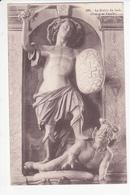 Statue De SAINT MICHEL Terrassant Le DIABLE DU JUCH (Diaoul Ar Yeuc'h) Eglise De DOUARNENEZ, épée, Bouclier, Ed Le Doaré - Arts