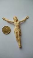 Christ En Croix Matière ? Poids 10 G - Religion & Esotérisme